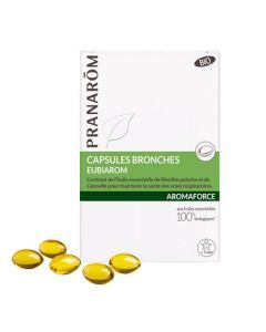Pranarôm Aromaforce Capsules Bronches Eubiarom Bio 30 capsules