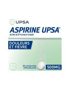 UPSA Aspirine Comprimé Effervescent 500 mg  x20 Comprimés