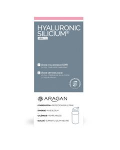Aragan Hyaluronic Silicium Flacon pompe airless 30 000 mg
