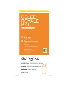 Aragan Gelée Royale Bio 15 000 Mg Flacon pompe airless