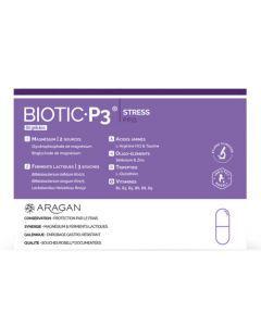 Aragan Biotic P3 Stress P.P.O. Boîte de 60 gélules
