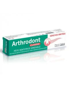 ARTHRODONT CLASSIC Pâte Dentifrice Gingivale Gencives irritées 75ml
