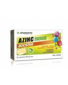 Arkopharma Azinc Énergie Booster 20 comprimés effervescents