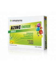 Arkopharma Azinc Énergie Max 30 comprimés à avaler