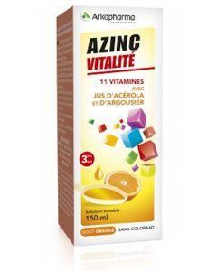 Arkopharma Azinc Vitalité Solution Buvable Goût orange 150ml