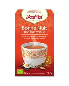 Yogi Tea Bonne Nuit Rooibos Vanille 17 Infusions