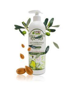 MKL Lait Hydratant Aux Huiles d'Olives et d'Argan 500ml