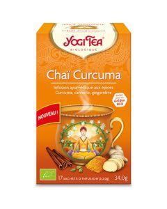 Yogi Tea Chai Curcuma 17 Infusions
