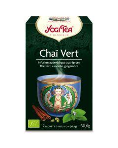 Yogi Tea Chai Vert 17 Infusions