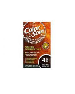 Les 3 Chênes Color et Soin Chatain Brownie 4b Coloration Végétale 135ml