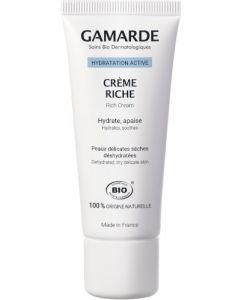 Gamarde Hydratation Active Crème Hydratante Riche 40g