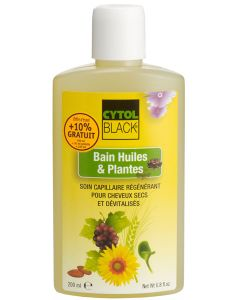 Cytolnat Cytoblack Bain Huiles et Plantes 200ml