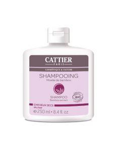 Cattier Shampooing Cheveux Secs Moelle de Bambou 250ml