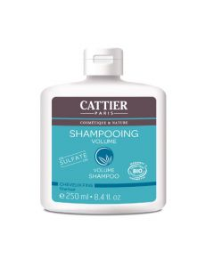 Cattier Shampooing Volume Cheveux Fins  Abyssinie 250ml