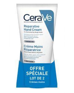 CeraVe Crème Mains Réparatrice 2 x 50ml
