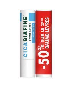 Cicabiafine Baume à Lèvres 4,8g x 2
