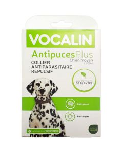 Vocalin AntipucesPlus Collier Chien Moyen
