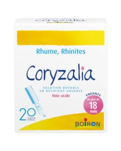 Coryzalia solution buvable 20 unidoses
