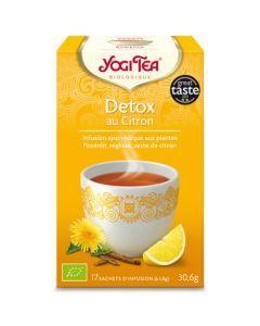 Yogi Tea Détox au Citron 17 Infusions