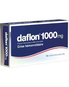 Daflon 1000mg 18 comprimés pelliculés