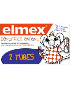 Elmex Enfants Dentifrice Lot de 2x50ml