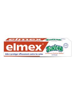 Elmex Dentifrice Junior 6-12 Ans 75ml