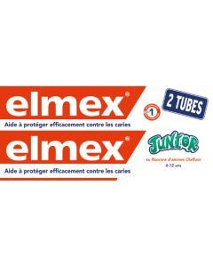 Elmex Dentifrice Junior 6-12 Ans Lot de 2x75ml