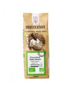 Destination Café Moka Awasas Moulu Ethiopie Bio 250g