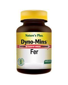 Nature's Plus Dyno Mins Fer 30 comprimés