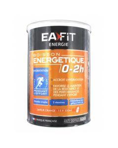 EAFIT Boisson Energétique 0-2H Saveur Orange 500g