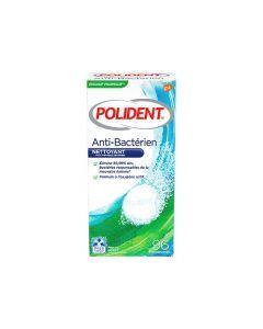 Polident Anti-Bactérien 96 Comprimés Nettoyants
