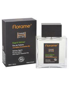 Florame Homme Eau de Toilette Esprit Vétiver 100ml