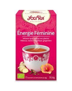 Yogi Tea Énergie Feminine 17 Infusions