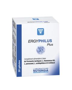 Nutergia Ergyphilus Plus 30 Gélules