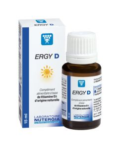 Nutergia Ergy D Vitamine D3 15ml