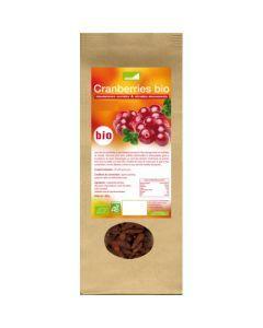 Exopharm Cranberries Sucrées & Séchées Biologiques Sachet de 250g