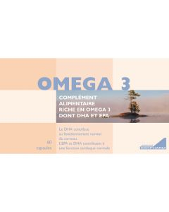 Exopharm Oméga 3 Boite de 60 capsules