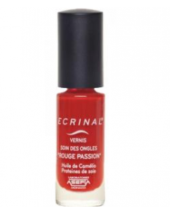 Ecrinal Vernis Rouge Passion Soin des Ongles 6ml