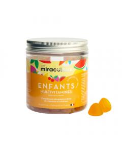 Les Miraculeux Multivitamines Enfants Tutti Frutti 42 Gummies
