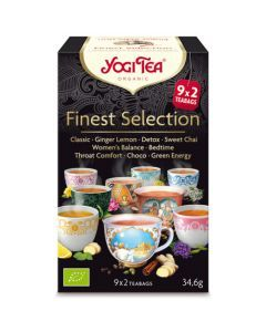 Yogi Tea Finest Selection 9x2 Infusions