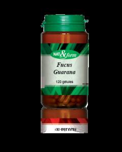 Nat&form Fucus Guarana 120 Gélules