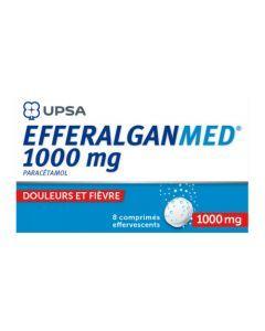 UPSA EfferalganMed 1000mg Effervescent 8 Comprimés