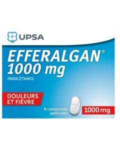 UPSA Efferalgan 1000mg 8 Comprimés Pelliculés