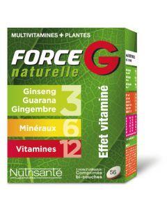Nutrisanté Force G Naturelle 56 Comprimés
