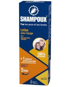 Shampoux Lotion Traitante Anti-Poux Sans Rinçage 100ml