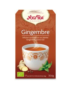 Yogi Tea Gingembre 17 Infusions