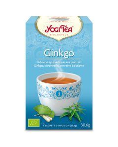 Yogi Tea Ginkgo 17 Infusions
