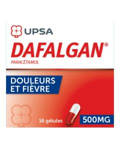 UPSA Dafalgan Gélules 500 mg x16 Gélules