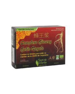 Santé Verte Ginseng Gelée Royale 10 Ampoules