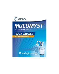 UPSA Mucomyst poudre orale 200 mg